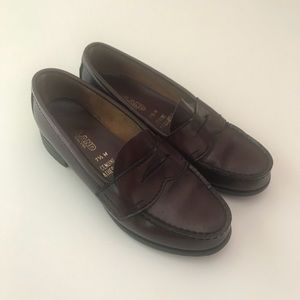 Brown Genuine Leather Loafers